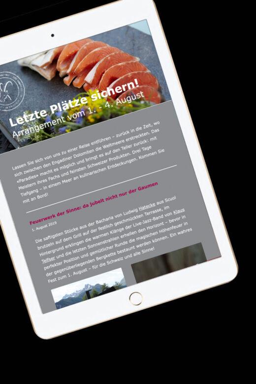 Beratung | Marketing | Publishing: Gäste mit Newsletter erreichen